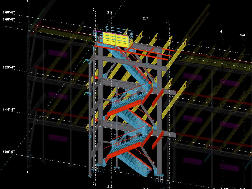 MKA Drafting Consulting Services Miscellaneous Metal Detailing